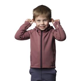 Houdini Kids Power Houdi Jacket Rasberry Rush Red